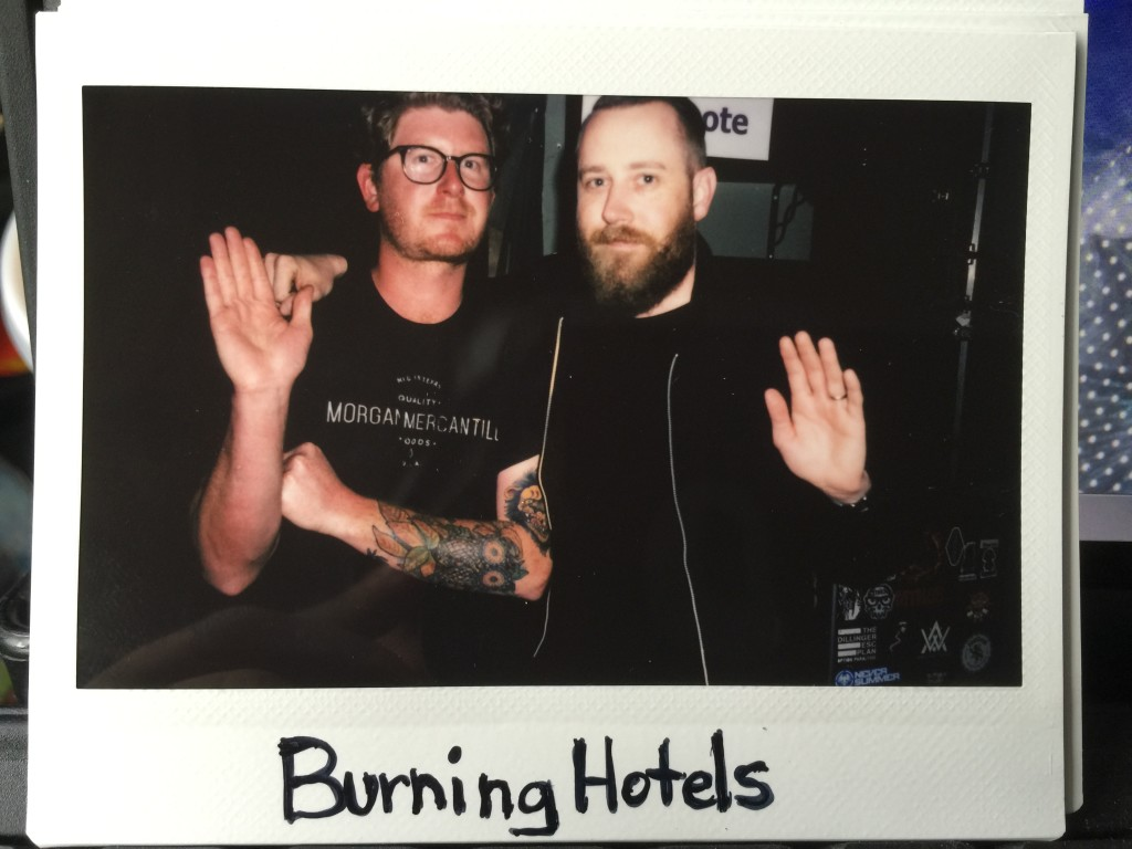 The Burning Hotels